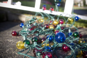 Christmas Lights Waiting to Be Hung with Care in Orem
