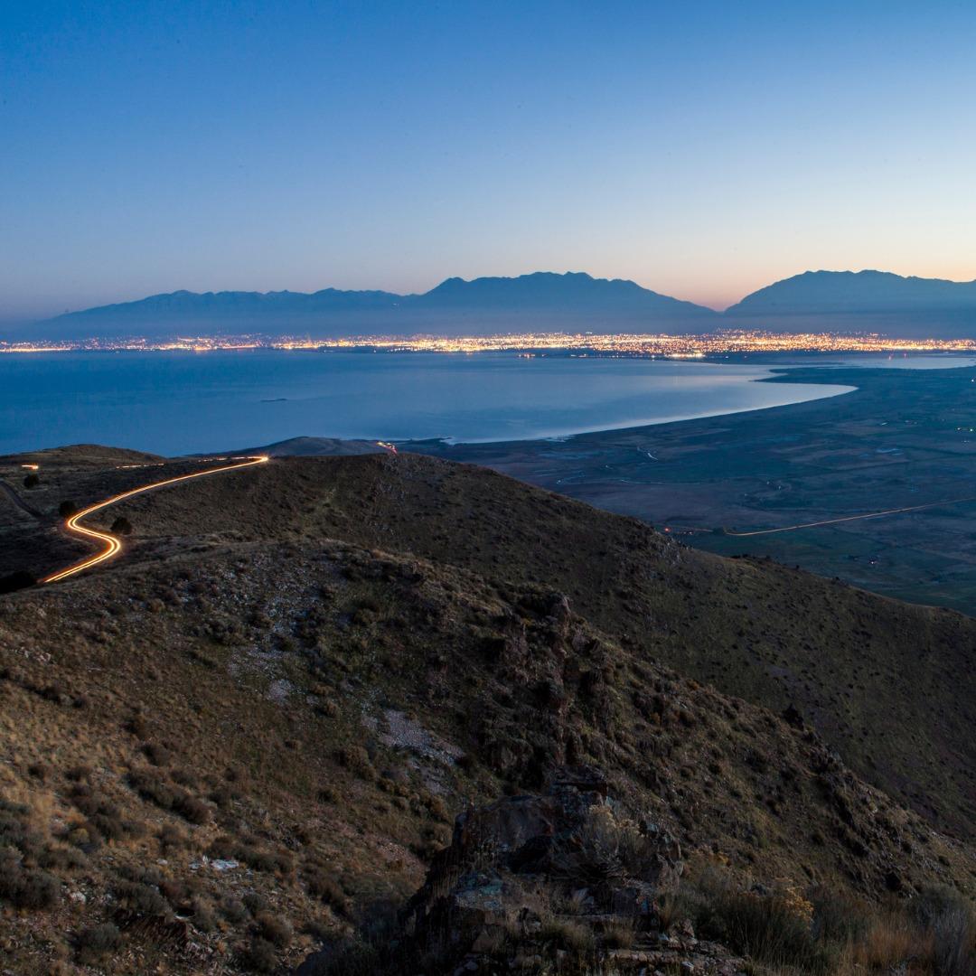 Utah County sunrise
