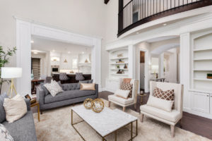 Highland Rental Property with a Beautifully Designed Living Room