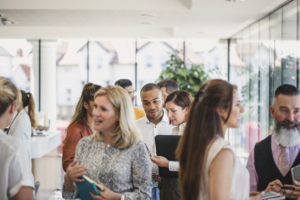 Orem Property Managers at a Networking Event