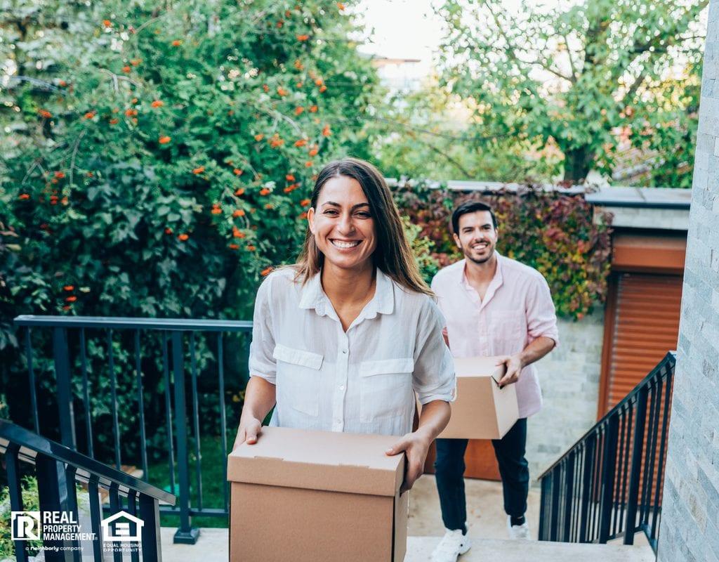 Millennial Couple Moving into Their New Bensalem Home