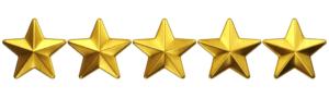 Fresno Rentals, Fresno property management, 5 Star rating