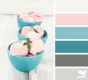 2018 Ice Cream Colors for Home Decor