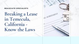breaking a lease ca