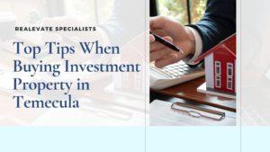 buying property temecula