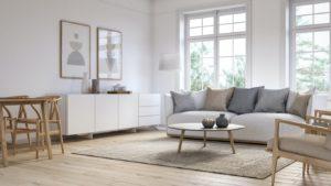 Classic, Timeless Bryant Rental Living Room