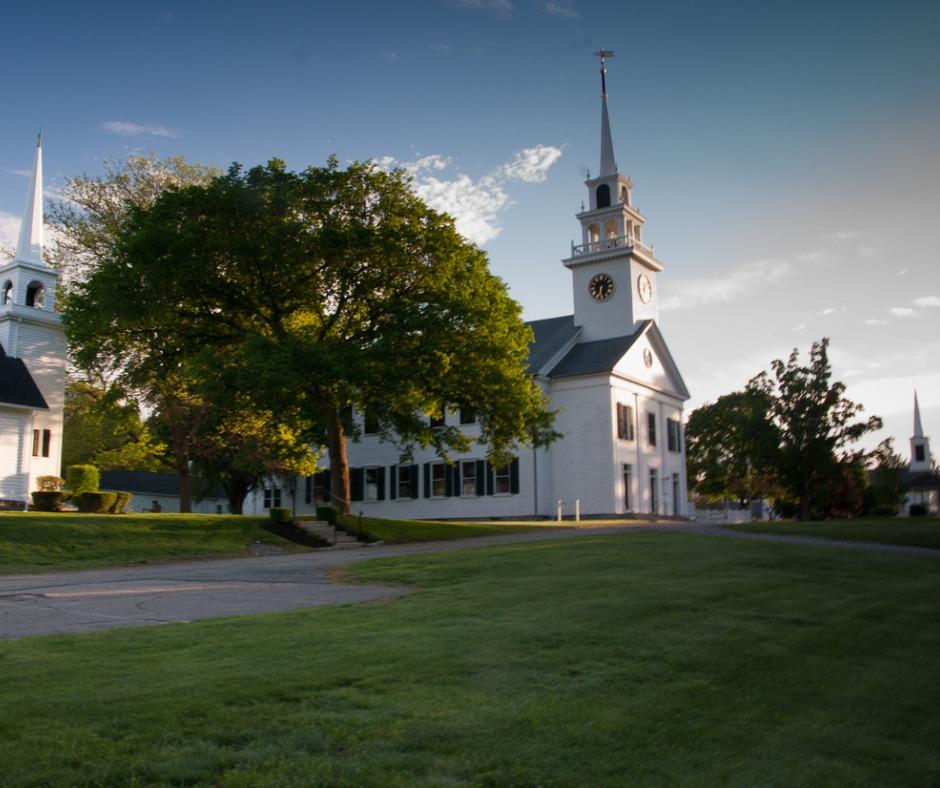 Three Churches in Milton, MA