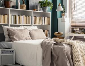 Small Bedroom Interior in a Nashville Rental Home