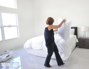 Lubbock Property Manager Staging a Rental
