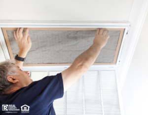 Meadowlakes Landlord Changing Air Filter