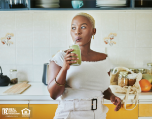 Magnolia Renter Using Eco-Friendly Kitchen Products
