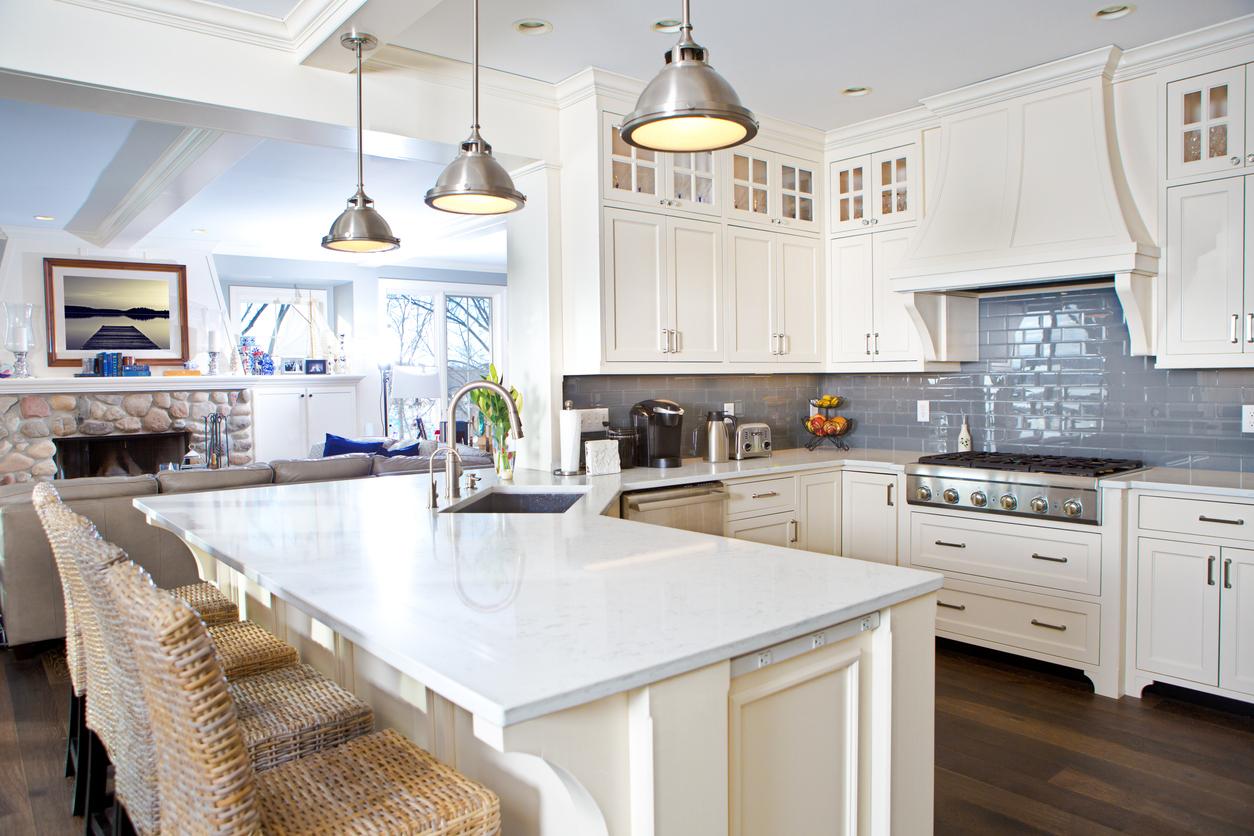 Modern Kitchen design in Eldersburg MD home
