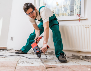 Bullhead City Tenant Trying to Fix Floors in a Rental Property