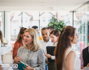Oxbow Property Managers at a Networking Event