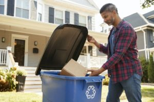 Shelby Charter Township Tenant Recycling Cardboard