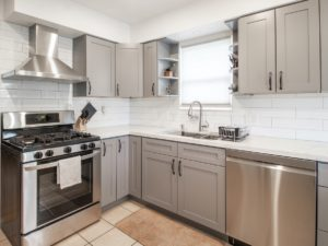 Royal Oak Rental Home Kitchen with Stainless Steel Appliances