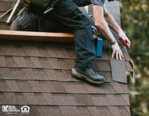 General Contractor Installing New Roof on Ballard Rental