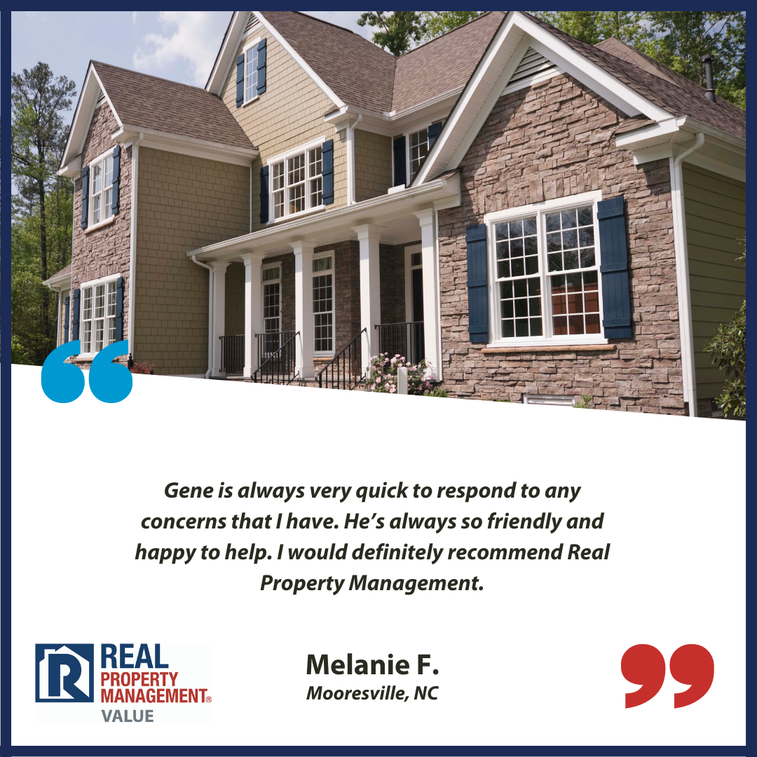 5-star testimonial for Real Property Management Value