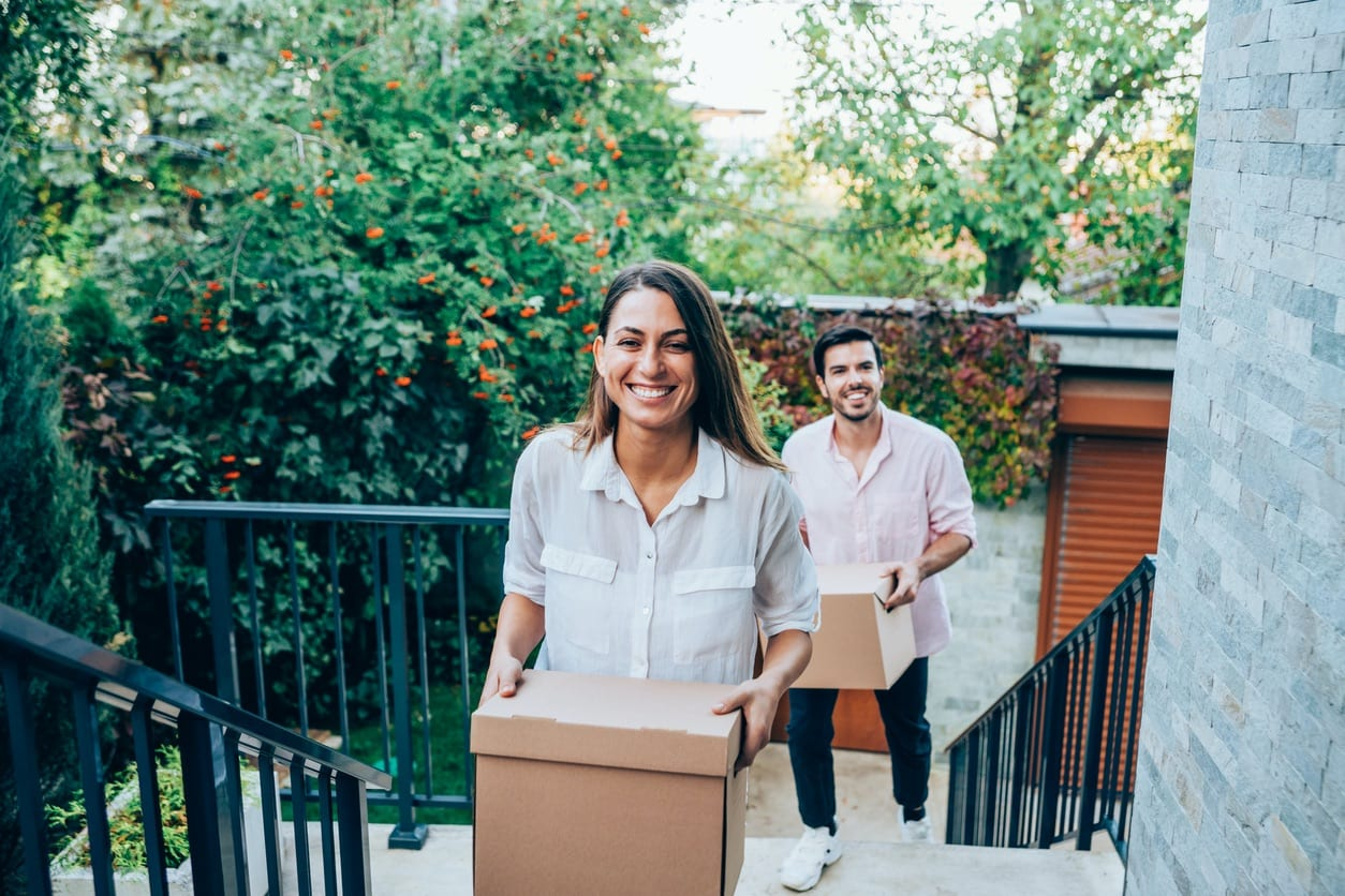 Millennial Couple Moving into Their New Burbank Home