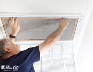 Sandusky Landlord Changing Air Filter