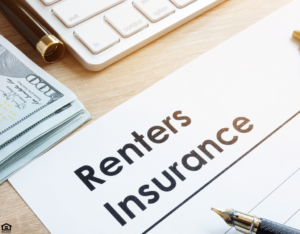 Document Labeled as Renters Insurance for a Tenant in Pearland