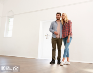 Couple Taking Self-Guided Property Tour in Clear Lake