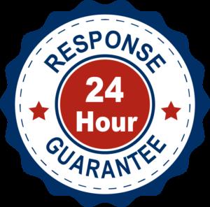 24 Hour Response Guarantee 300x296