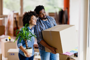 Dickinson Tenants Moving In