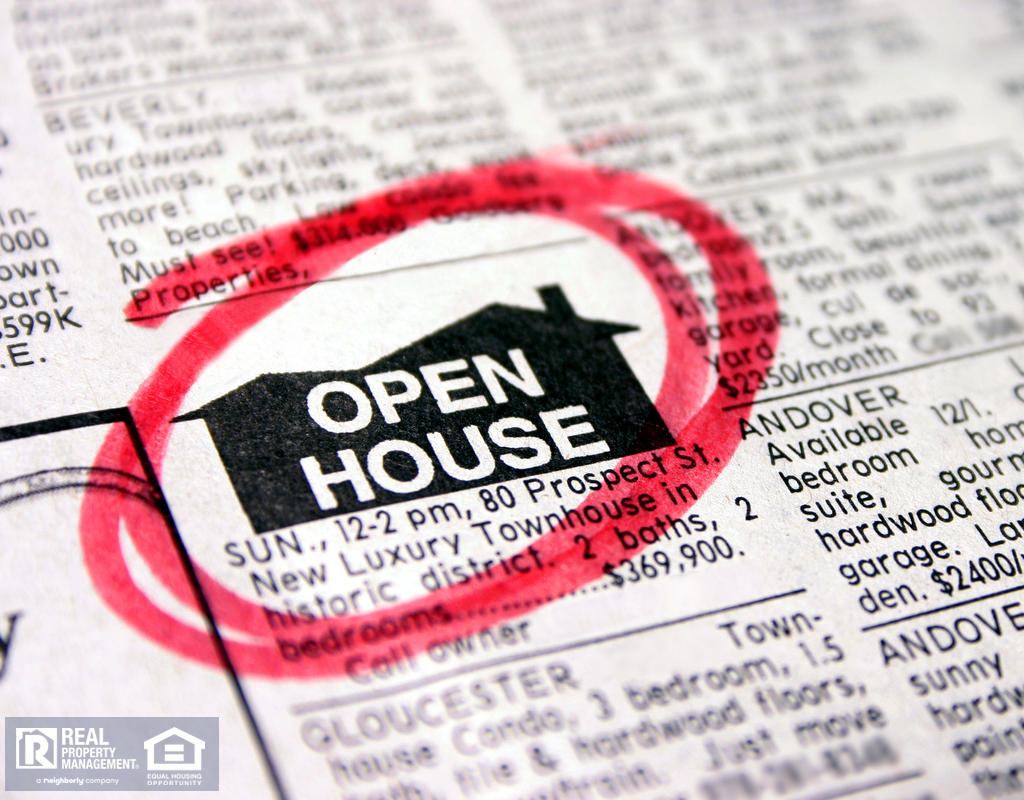 Open House Ad in Newspaper Classifieds