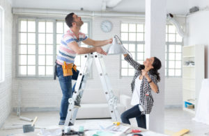 Landlord Remodeling the Common Area of Their Rental Property in Washington DC