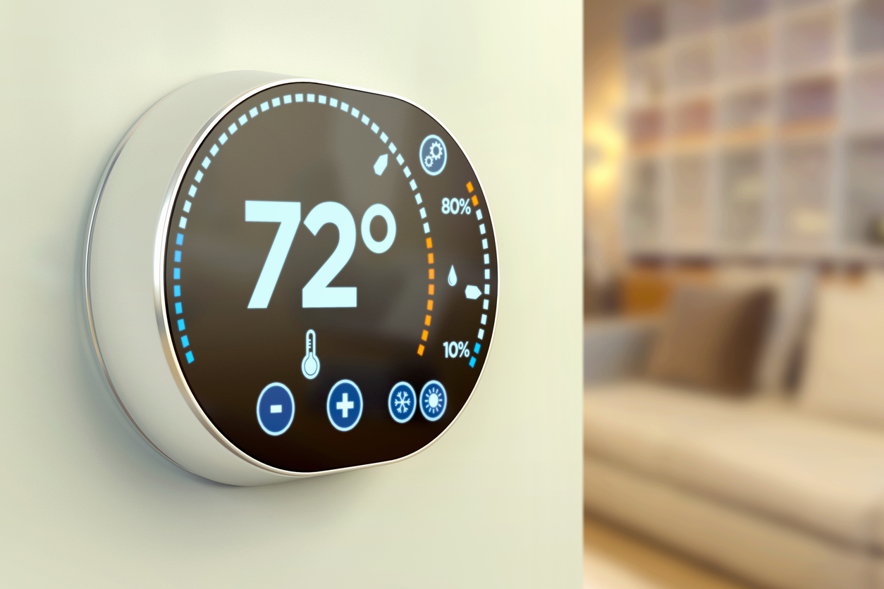 Frederick Rental Home Equipped with a Smart Thermostat