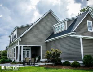 Waco Rental Property Exterior and Patio