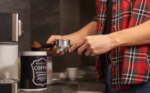 Temple Tenant Making Coffee