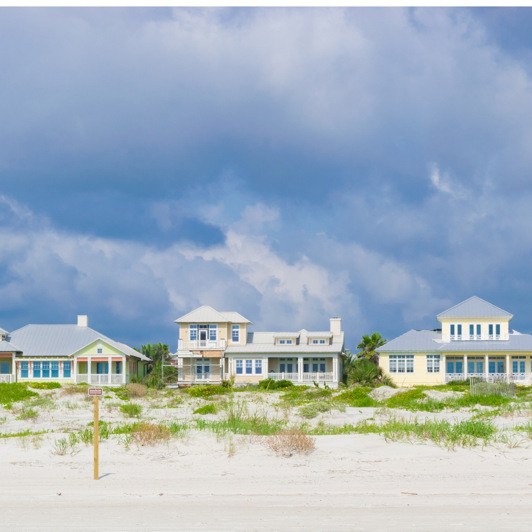 Beach Houses in St Augustine, Florida