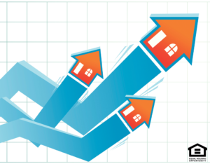 Houses Incorporated Into a Graph Representing Growth and Progress