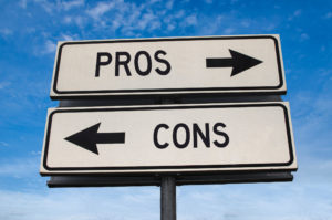 sign pointing to pros and cons of owning turnkey rental properties in boca raton fl