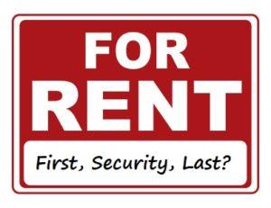 last month's rent
