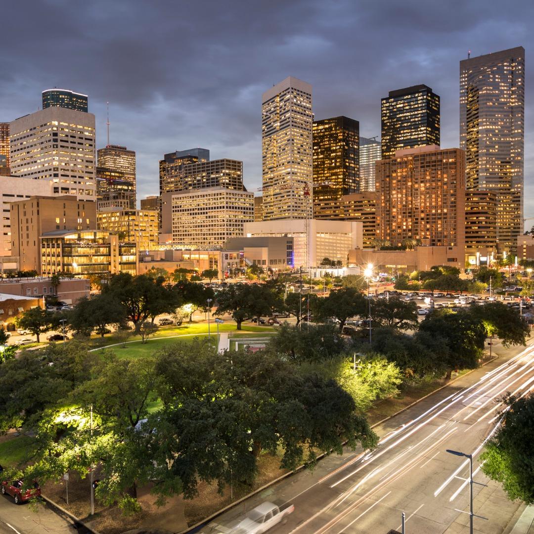 Houston TX Skyline View