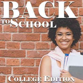 Back to School Checklist - College Edition