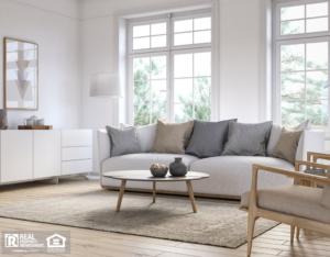 Classic, Timeless Plano Rental Living Room