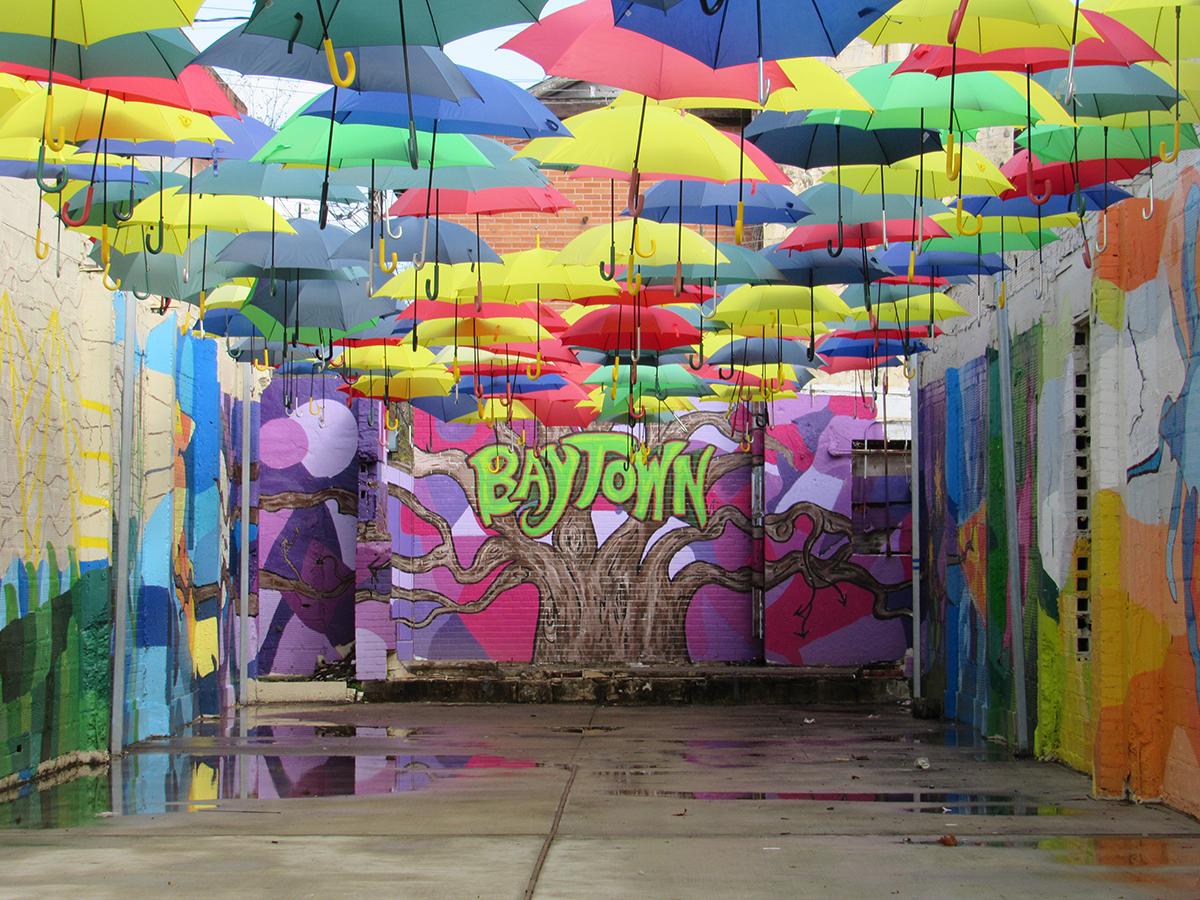 Art Installation in Baytown, TX