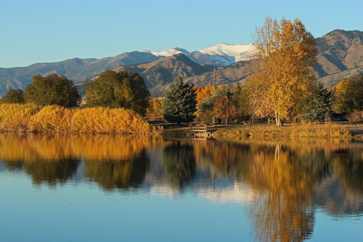 autumn in the Montana mountains