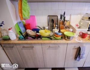Bozeman Messy Kitchen