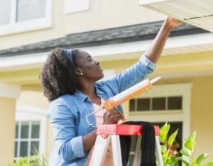 Blacksburg Tenant Taking Care of Some Home Repairs
