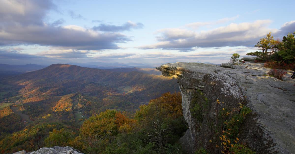 Tinker Cliffs Overlook