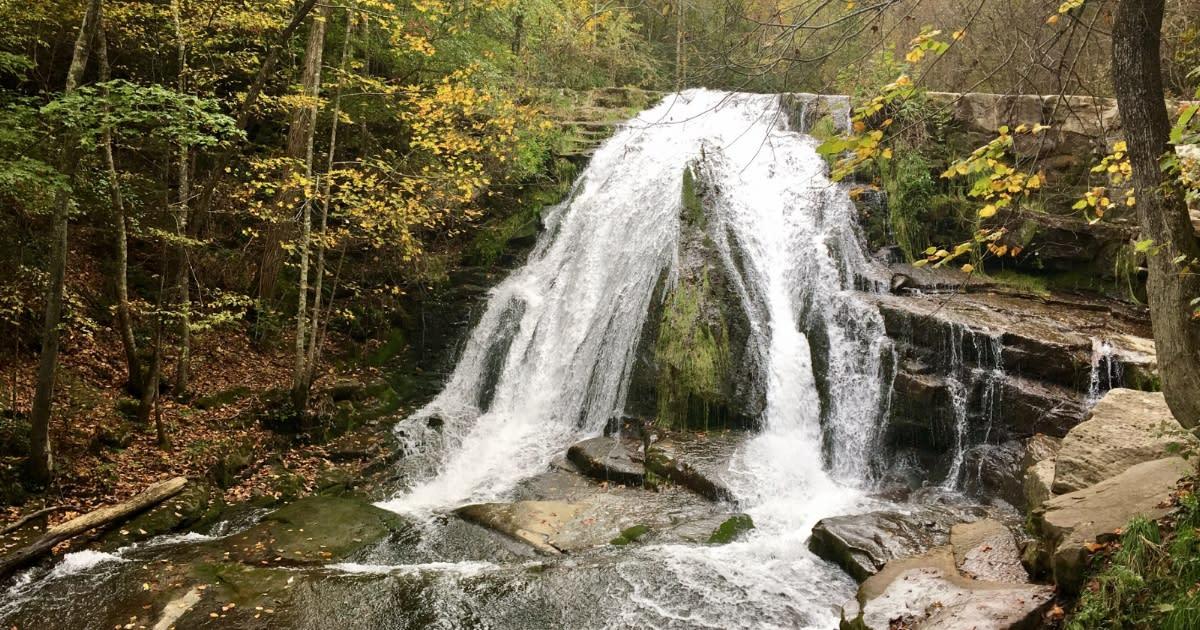 Waterfall at Stiles Falls