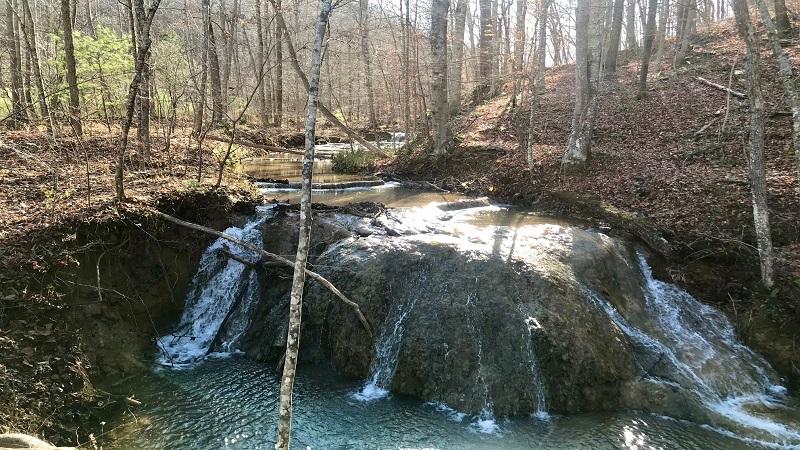 Waterfall at the Falls Ridge preserve