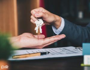 Elkins Investor Being Handed a Set of Keys