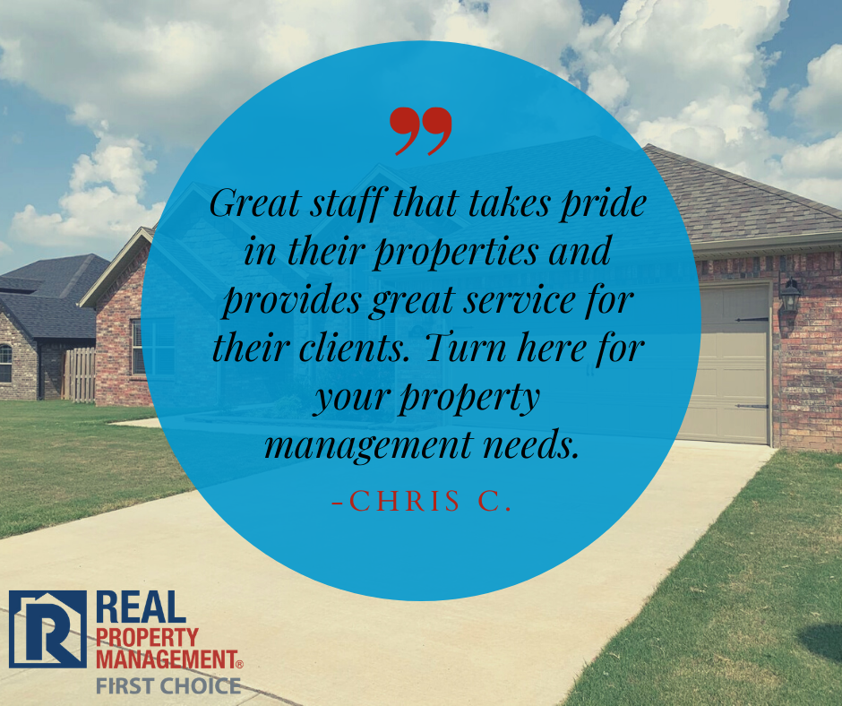 Great staff that takes pride in their properties and provides great service for their clients. Turn here for your property management needs. - Chris C.