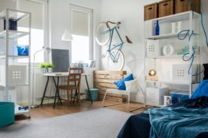 Stylized Goddard Studio Apartment with Storage Space